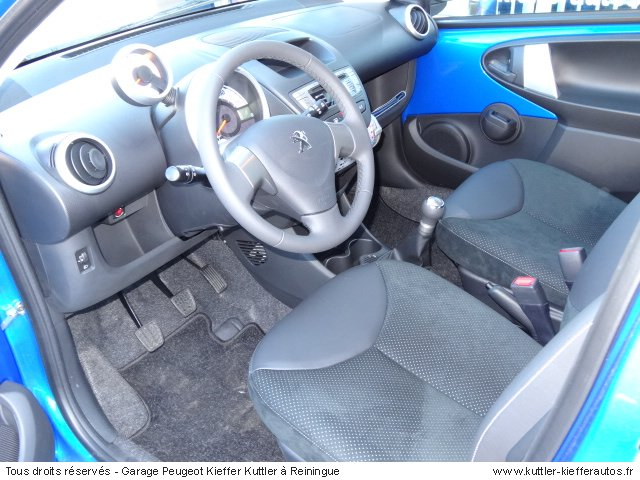 PEUGEOT 107 ESSENCE ALLURE 5 PORTES 2012 - Voiture d'occasion