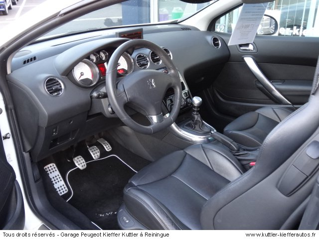 peugeot 308 cc 2l hdi 140cv feline 2009 occasion auto peugeot 308 cc. Black Bedroom Furniture Sets. Home Design Ideas