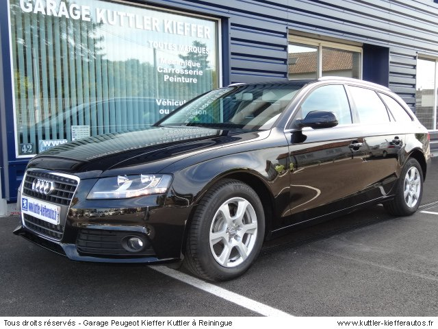 audi a4 avant 2l tdi 143cv ambiente bva 2010 occasion. Black Bedroom Furniture Sets. Home Design Ideas
