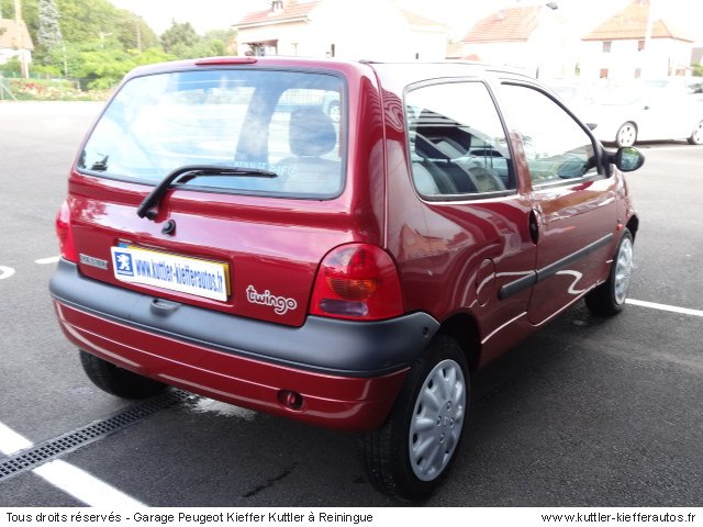 renault twingo 1 2l 16v 2001 occasion auto renault twingo. Black Bedroom Furniture Sets. Home Design Ideas