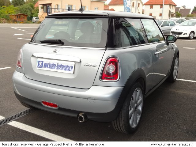 MINI COOPER 1.6L 120CV PACK CHILI 2009 - Voiture d'occasion