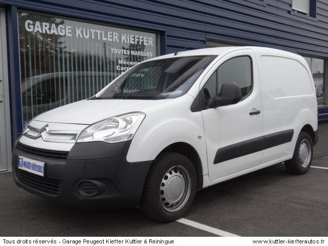 CITROEN BERLINGO BUSINESS PACK 1.6L HDI 110CV 2009 - Voiture d'occasion