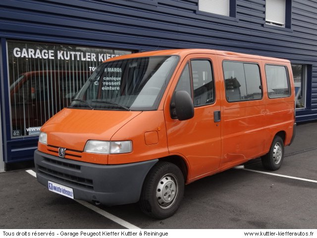 PEUGEOT BOXER 2L ESSENCE 9 PLACES 2001 - Voiture d'occasion