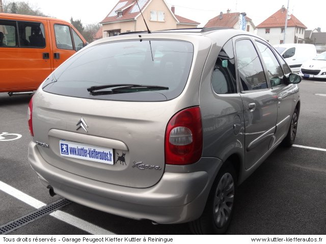CITROEN PICASSO 2.0L HDI 90CV 2003 - Voiture d'occasion
