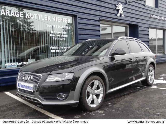 audi a4 allroad 3l tdi ambition luxe 2010 occasion auto. Black Bedroom Furniture Sets. Home Design Ideas