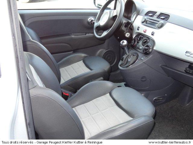 FIAT 500 SPORT 1.3L MULTIJET 95 CV 2011 - Voiture d'occasion