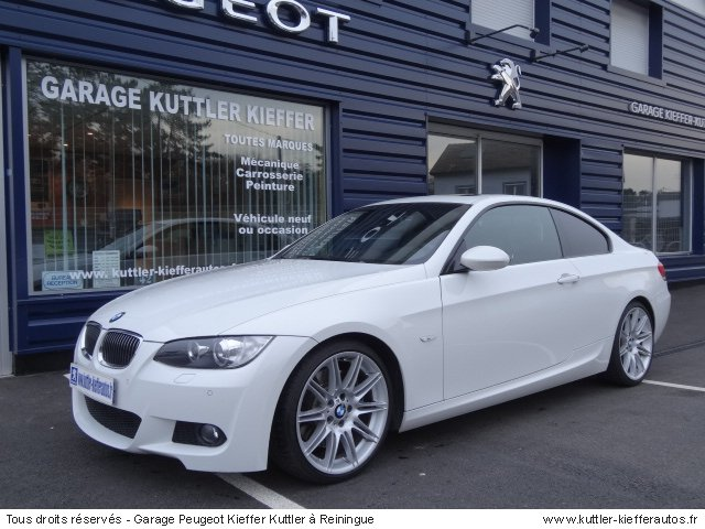 bmw 335 i coupe sport design 2009 occasion auto bmw 335 i coupe. Black Bedroom Furniture Sets. Home Design Ideas