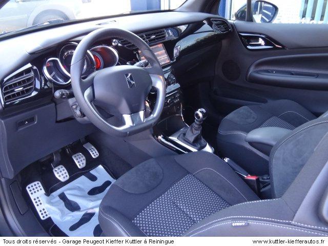 CITROEN DS3 1.6L THP 156CV SPORT CHIC 2012 - Voiture d'occasion