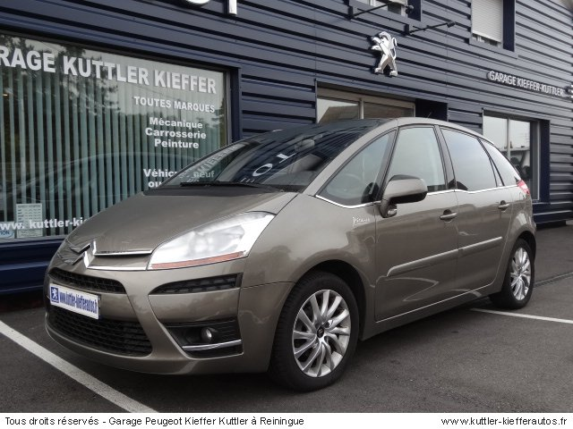 citroen c4 picasso 1 6l hdi 110cv bpm6 exclusive 2007 occasion auto citroen c4 picasso. Black Bedroom Furniture Sets. Home Design Ideas