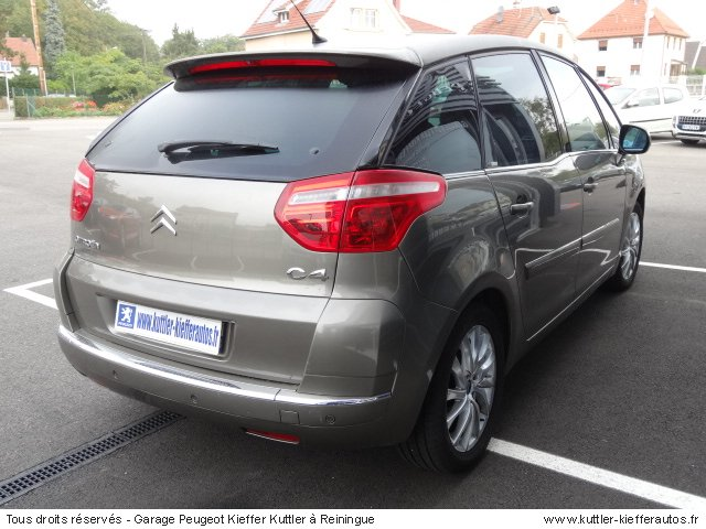 CITROEN C4 PICASSO 1.6L HDI 110CV BPM6 EXCLUSIVE 2007 - Voiture d'occasion
