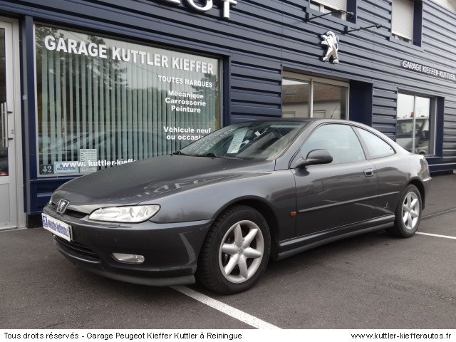 PEUGEOT 406 COUPE V6 PACK 1998 - Voiture d'occasion