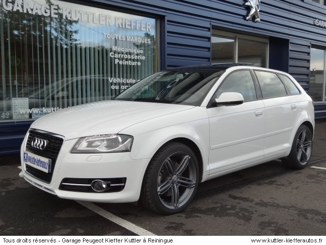 audi a3 sport back anbition luxe tdi 170cv dsg 2011. Black Bedroom Furniture Sets. Home Design Ideas