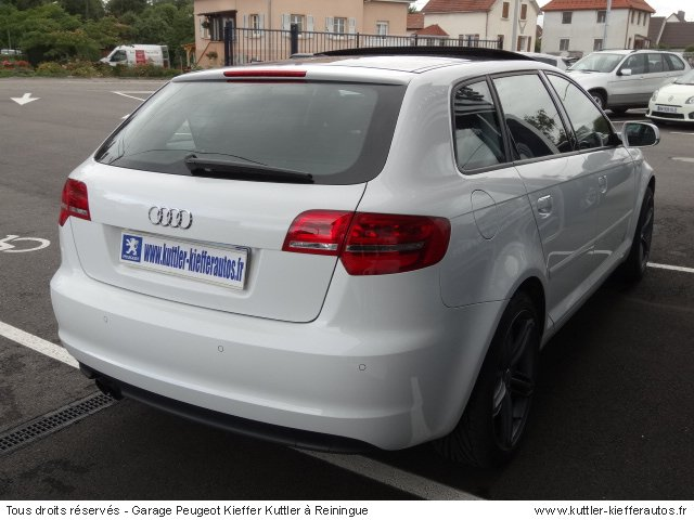 AUDI A3 SPORT BACK ANBITION LUXE TDI 170CV DSG 2011 - Voiture d'occasion