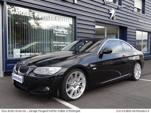 BMW 335 I COUPE SPORT DESIGN BVA DKG 2010 - Voiture d'occasion
