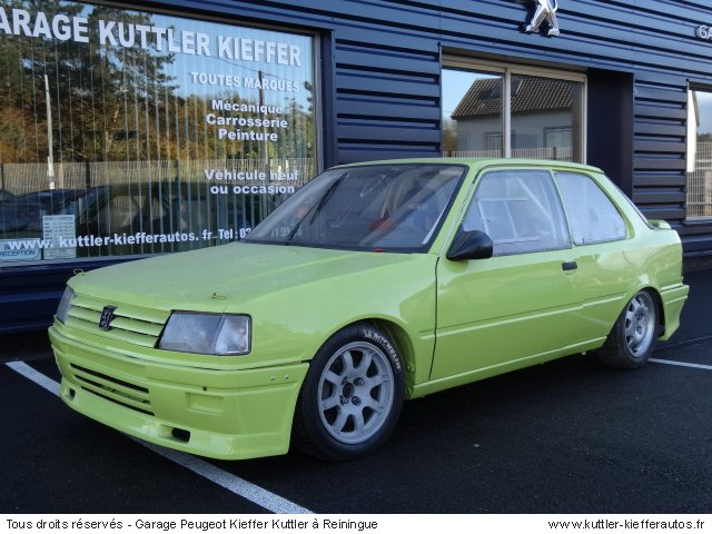 PEUGEOT 309 TURBO CUP 1987 - Voiture d'occasion