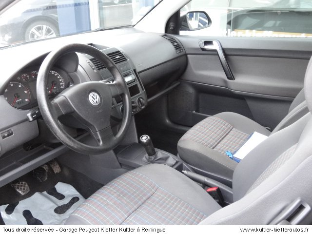 VOLKSWAGEN POLO TDI 70 CV 2008 - Voiture d'occasion