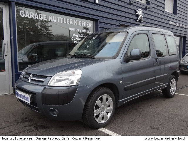 CITROEN BERLINGO 1.6L HDI 92 CV MULTISPACE PACK 2006 - Voiture d'occasion