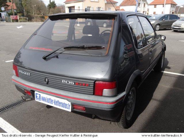 PEUGEOT 205 GTI 1.6L 115CV 1991 - Voiture d'occasion