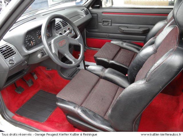 PEUGEOT 205 GTI 1.9L 122CV 1990 - Voiture d'occasion