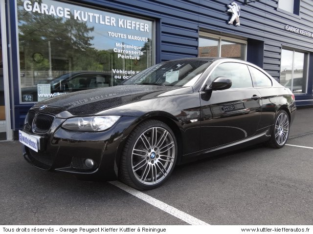 BMW 320 D COUPE SPORT DESIGN 2010 - Voiture d'occasion