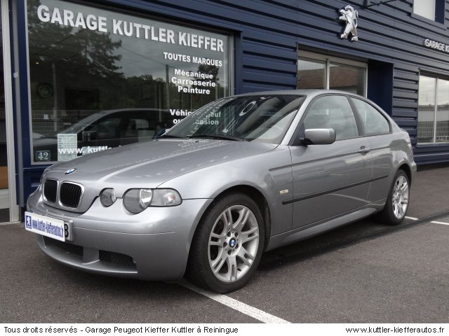 bmw 316 i compact pack m 2004 occasion auto bmw 316 i. Black Bedroom Furniture Sets. Home Design Ideas