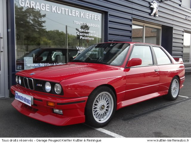bmw m3 e30 195cv 1989 occasion auto bmw m3. Black Bedroom Furniture Sets. Home Design Ideas