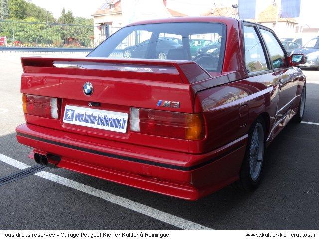 BMW M3 E30 195CV 1989 - Voiture d'occasion
