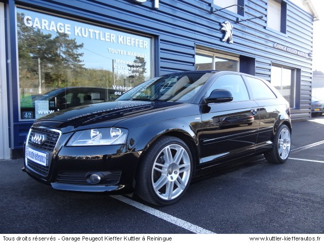audi a3 1 9l tdi 105cv ambition 2009 occasion auto audi. Black Bedroom Furniture Sets. Home Design Ideas