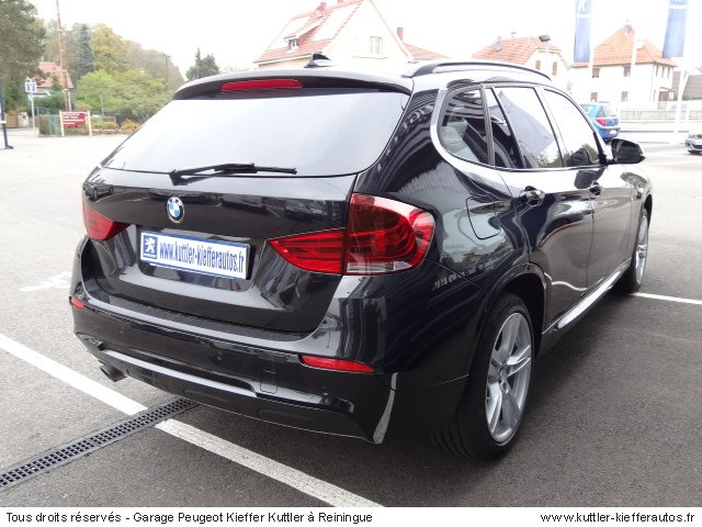bmw x1 sdrive 20 da 2012 occasion auto bmw x1. Black Bedroom Furniture Sets. Home Design Ideas