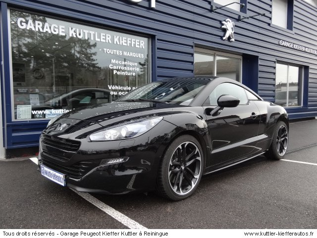 peugeot rcz hdi 163cv red carbon 2014 occasion auto. Black Bedroom Furniture Sets. Home Design Ideas
