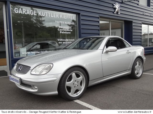 mercedes slk 2 3l kompressor 2003 occasion auto mercedes. Black Bedroom Furniture Sets. Home Design Ideas