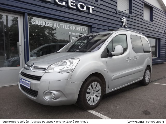 CITROEN BERLINGO 1.6L HDI 92 CV MULTISPACE PACK 2008 - Voiture d'occasion