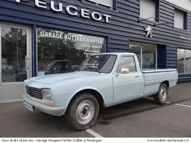 PEUGEOT 504 PICK UP 1984 - Voiture d'occasion