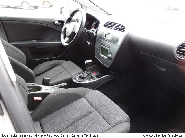 SEAT LEON FR TDI 170CV 2008 - Voiture d'occasion