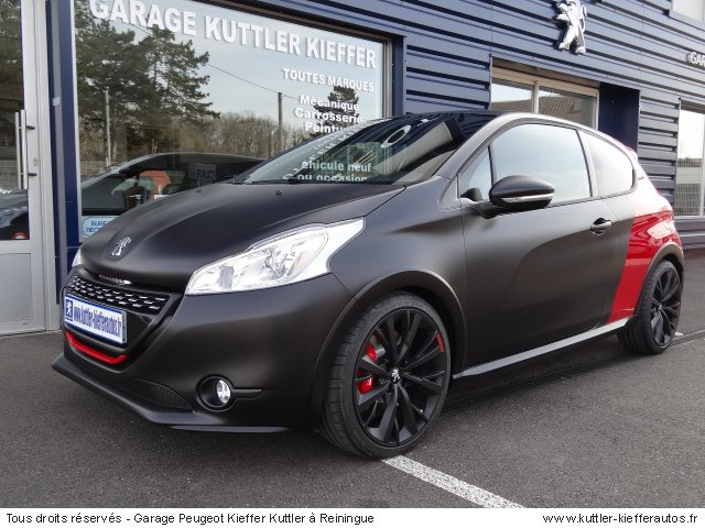 PEUGEOT 208 GTI 30TH COUPE FRANCHE 2015 - Occasion auto ...