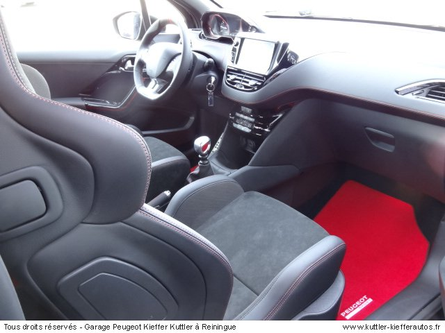 PEUGEOT 208 GTI 30TH COUPE FRANCHE 2015 - Voiture d'occasion