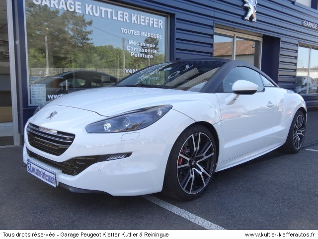 peugeot rcz r 270 cv 2014 occasion auto peugeot rcz. Black Bedroom Furniture Sets. Home Design Ideas