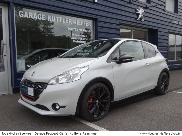 PEUGEOT 208 GTI 30TH 2014 - Voiture d'occasion