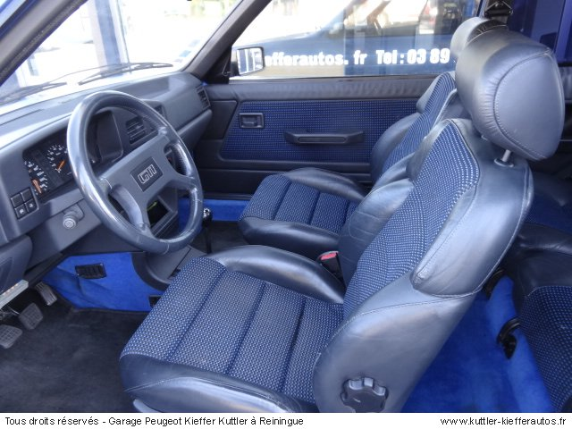 PEUGEOT 309 GTI 16 1991 - Voiture d'occasion