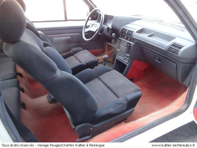 PEUGEOT 205 GTI CTI 1987 - Voiture d'occasion