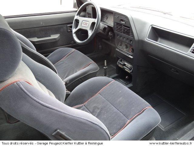 PEUGEOT 309 GTI 1.9L 130 CV 1987 - Voiture d'occasion