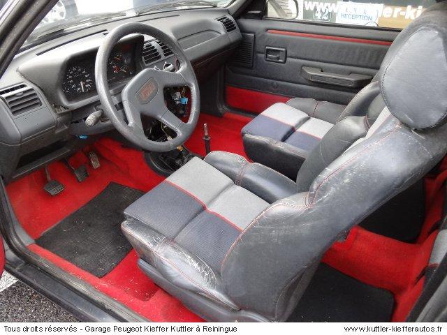 PEUGEOT 205 GTI 1.9L 130 CV 1987 - Voiture d'occasion