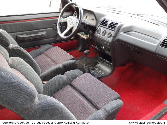 PEUGEOT 205 GTI 1.6L 115CV 1988 - Voiture d'occasion