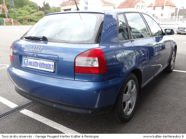 AUDI A3 1.8L TURBO  150CV 2002 - Voiture d'occasion