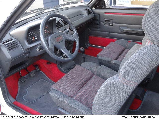 PEUGEOT 205 GTI 1.6L 115CV 1987 - Voiture d'occasion