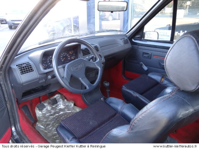 peugeot 205 gti cti 1 9l 105cv 1989 occasion auto peugeot 205 gti. Black Bedroom Furniture Sets. Home Design Ideas