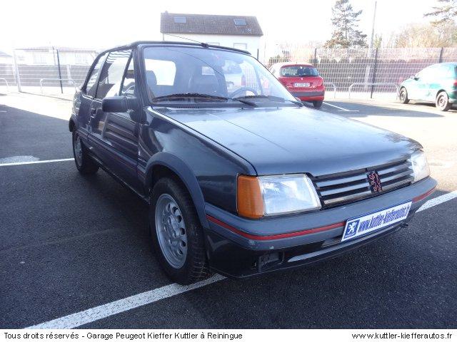 PEUGEOT 205 GTI CTI 1.9L 105CV 1989 - Voiture d'occasion