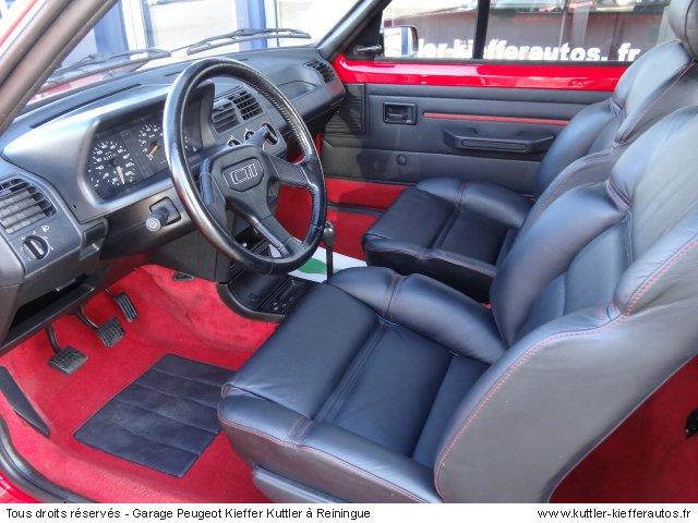 PEUGEOT 205 GTI CTI 1.9L 105CV 1992 - Voiture d'occasion