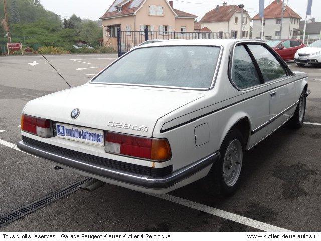 BMW 628 CSI 1982 - Voiture d'occasion