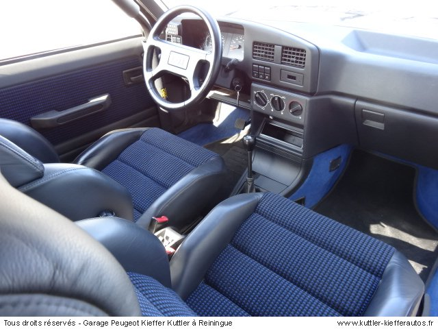 PEUGEOT 309 GTI16 DIMMA COMPRESSEUR 1993 - Voiture d'occasion